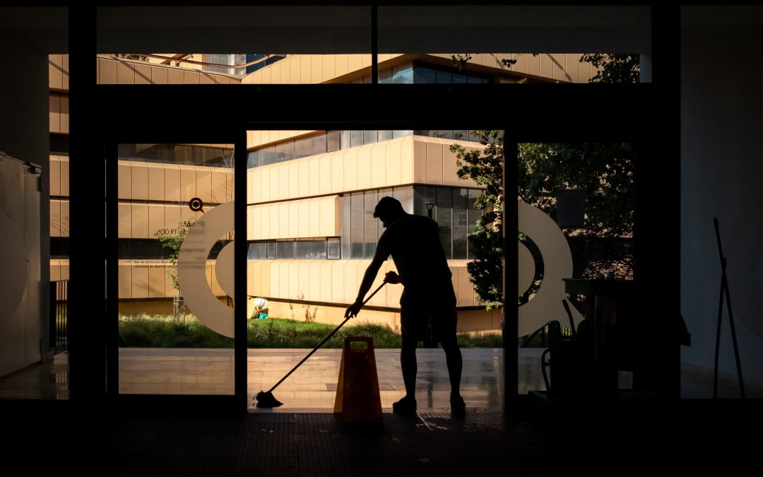 How Covid-19 affected the cleaning industry and expectations of cleanliness in public spaces